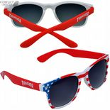 "THRASHER ""Big Blue"" Sunglasses Skateboard Red/White/Blue USA OSFA"